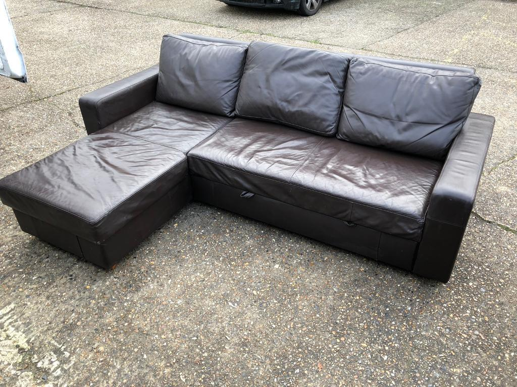 Enjoyable Corner Sofa Bed With Storage Excellent Condition Can Deliver In Haringey London Gumtree Machost Co Dining Chair Design Ideas Machostcouk