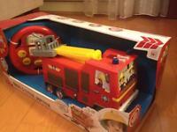 Brand new, unopened Fireman Sam Jupiter Drive and Steer
