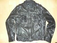 ALLSAINTS leather jacket size XL