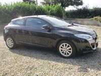 New Model Renault Megane Coupe, Service History, MOT to July 2017