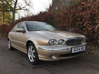 JAGUAR X TYPE **LOW MILES**FULL SERVICE HISTORY**EXCELLENT SPEC** 12 MONTHS MOT**