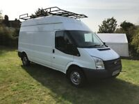 Ford transits choice of 2. 63 plate lwb highroof/61 plate lwb highroof.