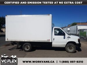 2012 Ford E-350 12Ft 5.4L V8 Gasoline Single Rear Wheel
