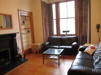 Double bedroom to rent in a spacious and lovely flat in Broughton area for COUPLES!!