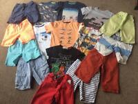 18 Piece GAP & NEXT Boys Spring / Summer Clothes Bundle 6-7 Years
