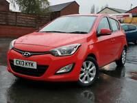 2013 Hyundai i20. 1 owner. £30 tax. Mot march