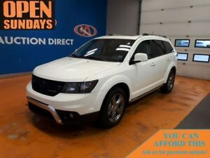 2017 Dodge Journey Crossroad! LEATHER! NAVI! POWER SUNROOF!