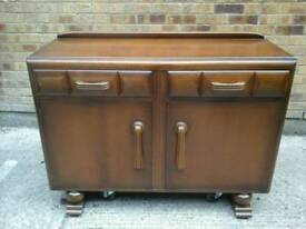 1930's small sideboard made by Jentique Furniture in nice condition