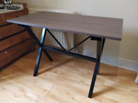 Walnut effect extendable dinning table - pick up only
