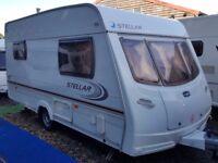 2004 Lunar Stellar 2 Berth End Kitchen Caravan