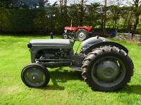 Ferguson TEF 20 Grey Dissel Tractor, restored in a very good condition, contact via mobil, any time.