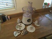 Morphy Richard Food Processor + Blender/Smoothie Maker Attachment