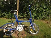 Di Blasi Italian folding bike
