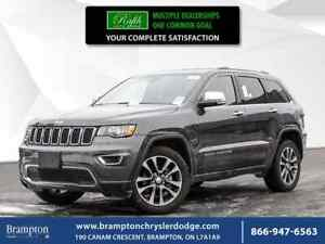 2018 Jeep Grand Cherokee LIMITED 4WD CLEAN TITLE NAVI SUNROOF LE