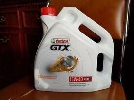 Castrol Engine Oil (GTX Engine Oil - 15W-40 - 4ltr) Sealed