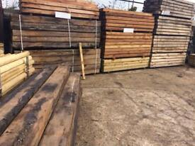 New treated Softwood Sleepers £16.50