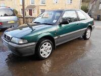 Rover 214 sei rare 2 door hatchback