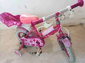 Small girls'bike