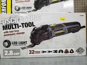 2.8 AMP OSCILLATING MULTI-TOOL with ACCESSORIES