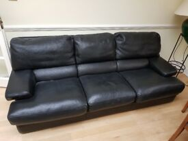 Leather Sofas (1 seater + 2 seater + 3 seater)