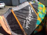 Kitesurfing kite for sale 11m cabrinha switchblade 2014