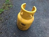 4,5 kg gas bottle (almost full)