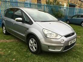 Ford S Max 2.0 tdci 7 seater 2007 2 owners long mot