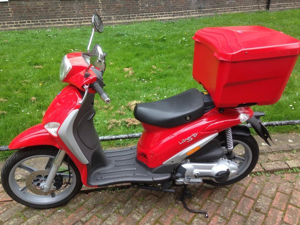 Piaggio liberty 125 delivery 2014