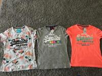 WOMENS SUPERDRY T SHIRTS BRAND NEW WITH TAGS