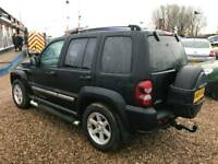 2005 55 plate Jeep Cherokee 4x4 2.8 diesel auto with 1 years warranty