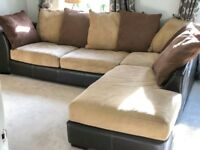 REDUCED Very Large (LH) Corner Sofa In Excellent Condition