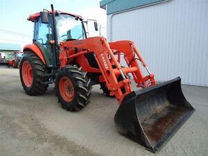 2011 kubota M7040 tracteur LOADER
