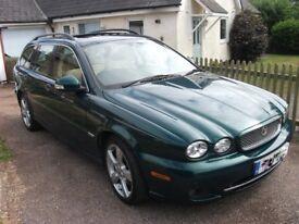 Jaguar X Type Estate 2Lt Diesel, low mileage