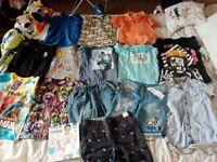 Boys summer clothes bundle age 8-9