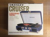 Turntable - Crosley Cruiser Portable