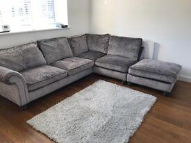 L shaped sofa NOW £350