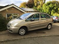 Citroen Xsara Picasso HDI 1.6.Genuine 37000 from new. Mot until September 2017.