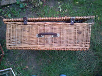 John Lewis 'Optima', Four Person Picnic Hamper,