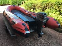 RIB EUROCRAFT 440 WITH MARINER OUTBOARD