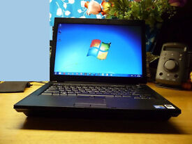 Dell business laptop Intel 2 x 2.4ghz , web camera Windows 7, office