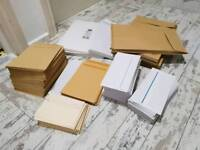 Assorted envelopes