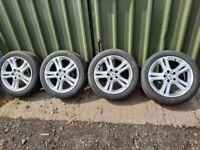 Mercedes E320 Alloy 4x wheels 17 inch A2114013602 245 45 17