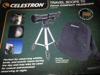 Celestron travel telescope.....(NEVER USED).....all in original packaging!