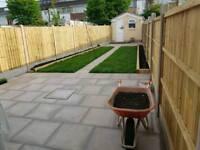 Gardening, landscaping, fencing, gate making, decking.