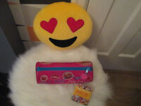 SEE MY OTHER ADS FOR GIRLS ITEMS (NEW) EMOJI CUSHION AND EMOJI PENCIL CASE