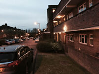 Nice single room is available now in a clean flat in Barnes, by the shops