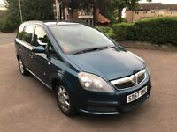 CAT.D 2007 AUTOMATIC ZAFIRA 2.2 PETROL LOW MILEAGE 80.150