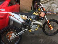 Ktm exc 125 2009 model. Not road registered