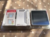 Velux window touchscreen remote control