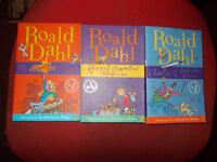 3 Roald Dahl books